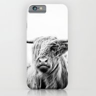 Portrait Of A Highland C… iPhone 6 Slim Case