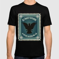 Le buse variable Mens Fitted Tee Black SMALL
