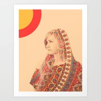 Tapestry (Double Exposur… Art Print