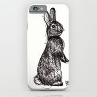 iPhone & iPod Case featuring Woodland Creatures: Rabbit by Ursula Rodgers