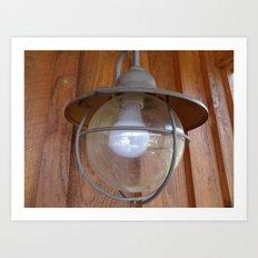 Lighting Globe Art Print