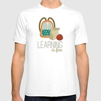 Backpacks & lunch sacks Mens Fitted Tee White SMALL