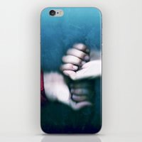 playing in the rain iPhone & iPod Skin