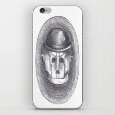 cyber chaplin iPhone & iPod Skin