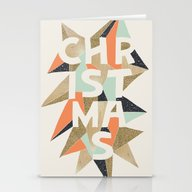 Christmas Sparkle Stationery Cards