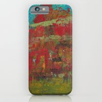 iPhone & iPod Case featuring Red Mountain by Kristen Fagan