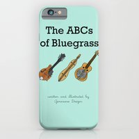 iPhone & iPod Case featuring The ABCs of Bluegrass by Illustrated by Jenny