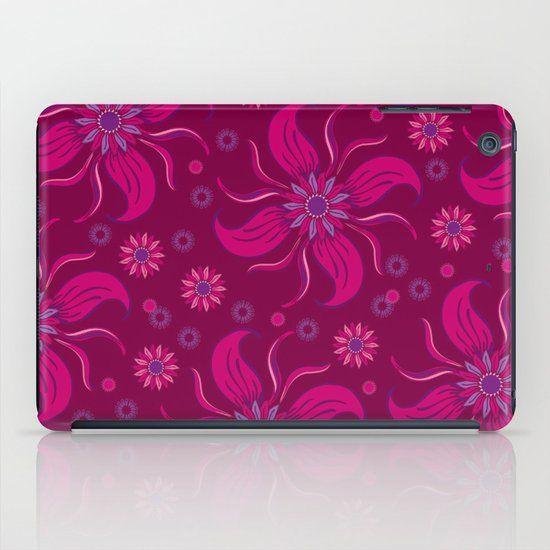 Floral Obscura Wine iPad Case
