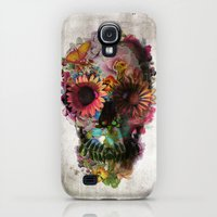 Galaxy S4 Cases featuring SKULL 2 by Ali GULEC