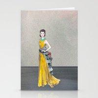 Rihanna | Golden Girl Fa… Stationery Cards