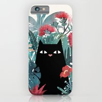 iPhone Cases featuring Popoki by littleclyde