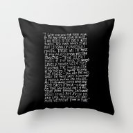 Throw Pillow featuring I Had No Room by Maioriz Home