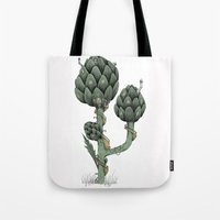 Artichoke Fairies  Tote Bag
