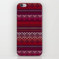 Weave (brown) iPhone & iPod Skin