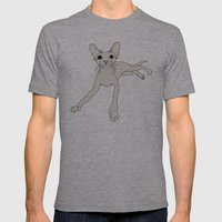 Fiona Mens Fitted Tee Athletic Grey SMALL