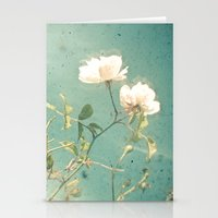 White Rose Stationery Cards