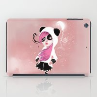 The physical feeling caused by something that hurts my heart. iPad Case