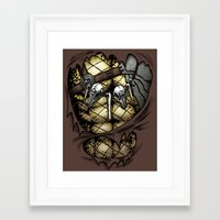 Hunting Costume Framed Art Print