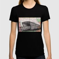 Iowa Womens Fitted Tee Black SMALL
