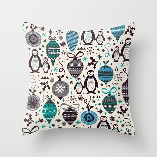 Silver Trinklets  Throw Pillow
