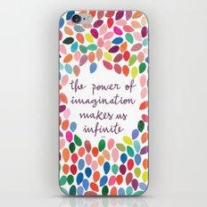 Imagination [Collaboration with Garima Dhawan] iPhone & iPod Skin