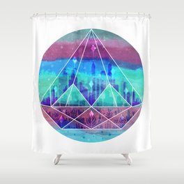 Shower Curtain - The Lost City - littleclyde