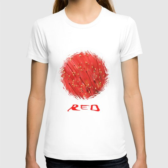 Red  &  Hairy T-shirt