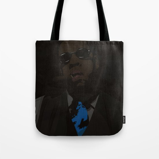 Jay-Z (Texture) Tote Bag