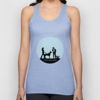 cats and dogs Unisex Tank Top