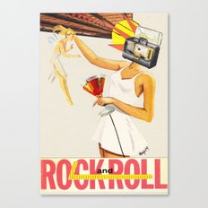 Sell Your Soul to Rock n' Roll Canvas Print