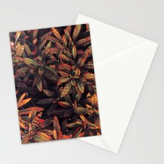 leaves evolved 5 Stationery Cards