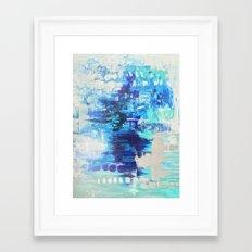 Walked on Water Framed Art Print