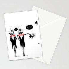 Baby Black Stationery Cards