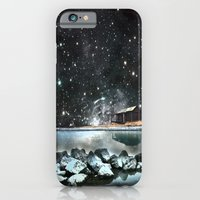 iPhone & iPod Case featuring house by the sea by ihavenonameandadress