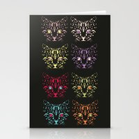 CAT FANTASY Stationery Cards