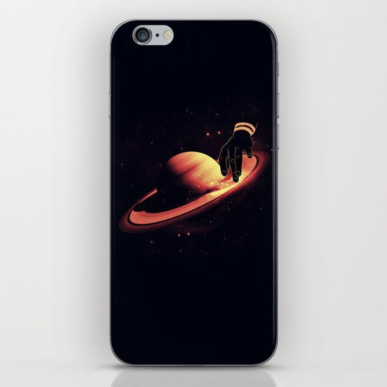 Saturntable iPhone & iPod Skin