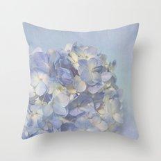 Charming Blue Throw Pillow