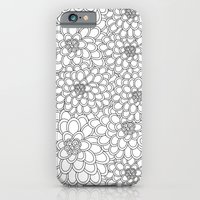 """iPhone & iPod Case featuring """"White flowered trees"""" by Juliagrifol designs"""