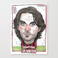 Canvas Print featuring MALDINI by BANDY