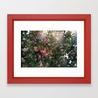 holga flowers. Framed Art Print
