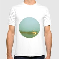 Watercolor Memories Mens Fitted Tee White SMALL