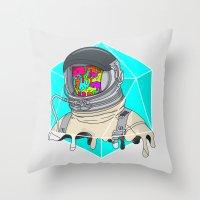 Psychonaut - Light Throw Pillow