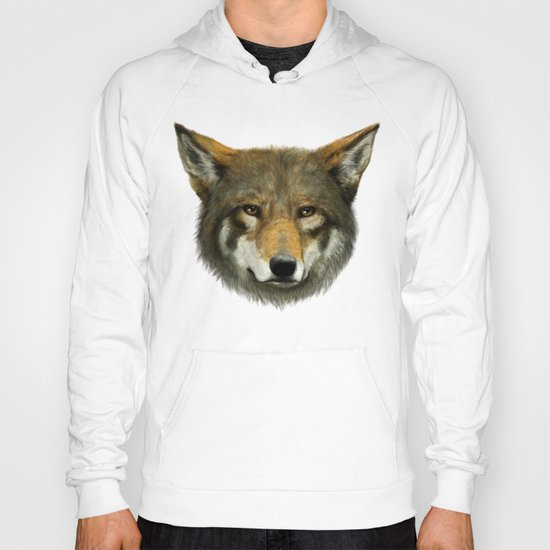 Wolf face Hoody