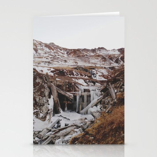 Frozen Falls Stationery Card