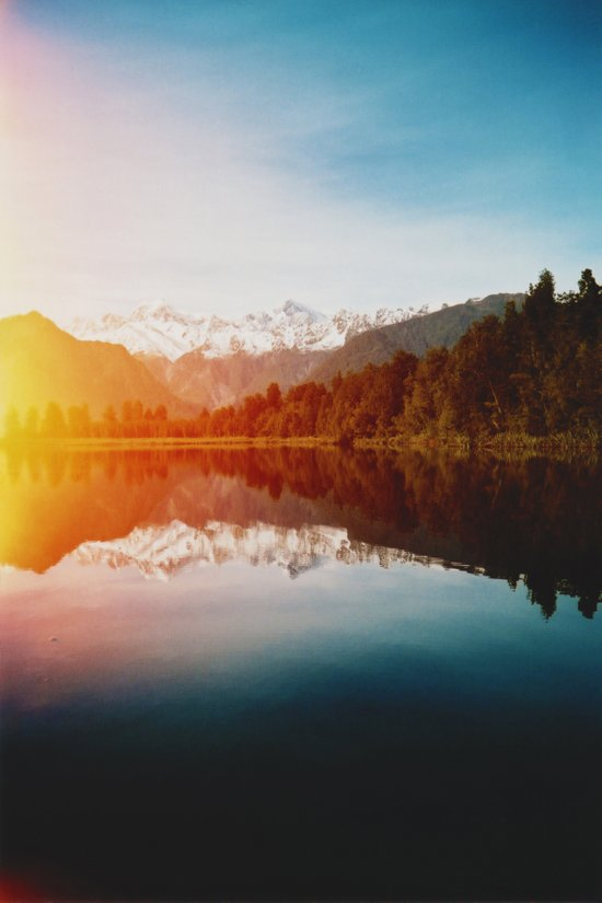 Lake Matheson Art Print