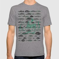 Pisces Mens Fitted Tee Athletic Grey SMALL