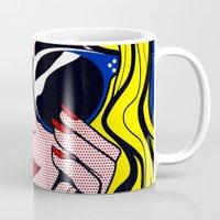 Pop Art Glamour Girl Mug