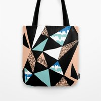 Crystalized I Tote Bag