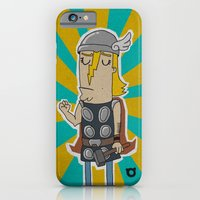 iPhone & iPod Case featuring 004_thor by teddyBOY