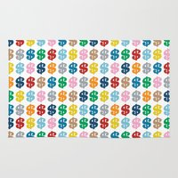 Colourful Money Repeat Rug